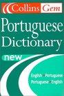 Collins Gem Portuguese Dictionary English-Portuguese, Portuguese-English