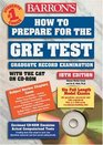 How to Prepare for the GRE Test with CDROM