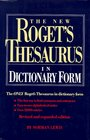 The New Roget's Thesaurus of the English Language in Dictionary Form
