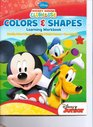 Mickey Mouse Clubhouse Colors & Shapes Learning Workbook