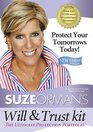 Suze Orman's Will  Trust Kit The Ultimate Protection Portfolio