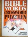 Bible Words Crossword Puzzles 3