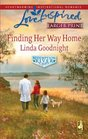 Finding Her Way Home (Redemption River, Bk 1) (Love Inspired) (Larger Print)