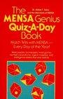 The Mensa Genius QuizADay Book
