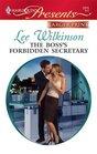 The Boss's Forbidden Secretary (Harlequin Presents, No 2815) (Larger Print)