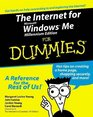 The Internet for Microsoft Windows Millennium Edition for Dummies