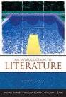 Introduction to Literature An