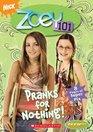 Pranks for Nothing (Zoey 101, Bk 3)