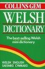 Collins Gem Welsh Dictionary