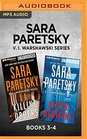 Sara Paretsky V I Warshawski Series Books 3-4 Killing Orders  Bitter Medicine