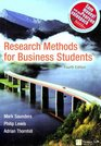 Research Methods for Business Students AND  Practical Research Planning and Design