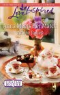 Anna Meets Her Match (Chatam House, Bk 1) (Love Inspired, No 513)