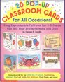 20 Pop-Up Classroom Cards for All Occasions! (Grades 1-3)