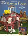 Playtime Places for Bean Bag Toys - Plastic Canvas