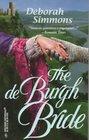 The de Burgh Bride (de Burghs, Bk 2) (Harlequin Historicals, No 399)