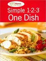 Simple 1-2-3: One Dish (Favorite Brand Name Recipes Series)