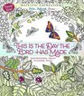 This Is the Day the Lord Has Made Inspirational Adult Coloring Book