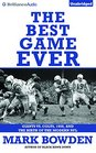 The Best Game Ever Giants vs Colts 1958 and the Birth of the Modern NFL
