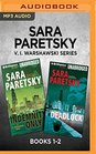 Sara Paretsky V I Warshawski Series Books 1-2 Indemnity Only  Deadlock