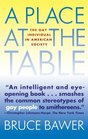 A Place at the Table The Gay Individual in American Society