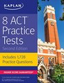 8 ACT Practice Tests Includes 1728 Practice Questions