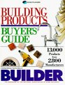 Building Products Buyer's Guide 13000 Products from 2800 Manufacturers