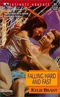 Falling Hard and Fast (Sullivan Brothers, Bk 3) (Silhouette Intimate Moments, No 959)