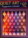 Quilt Art1992 Calendar