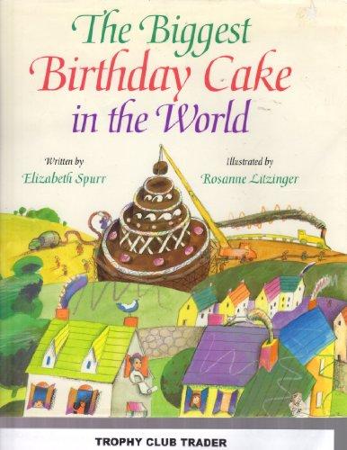 Sensational The Biggest Birthday Cake In The World Elizabeth Spurr Funny Birthday Cards Online Fluifree Goldxyz