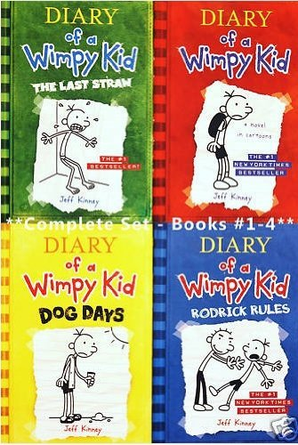 Diary Of A Wimpy Kid Rodrick Rules The Last Straw Dog Days Diary Of A Wimpy Kid Bks 14 Jeff Kinney Paperback 1615579184