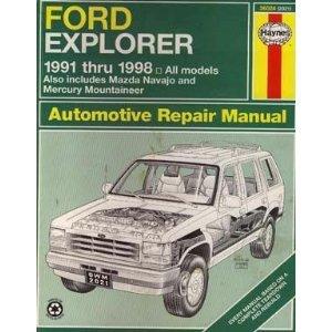 2000 ford explorer service repair manual.